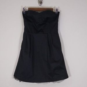 UO silence + noise black cocktail dress S small